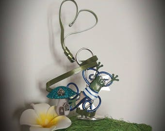 """A love of frog"" picture frames"