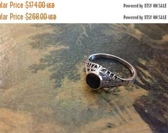Holiday SALE 85 % OFF Sapphire  Size 8 Ring Gemstone. 925 Sterling  Silver  Etsy Gift Sale
