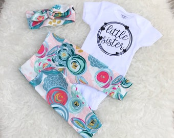 Cotton Candy 'Little Sister' Set - Hearts