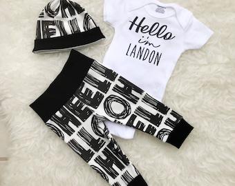 Hello Print 'Hello' Personalized Set