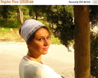 ON SALE PURE White kundalini  Headwrap,yoga head wrap,yoga headband,yoga hair tie,head covering,wide head scarf,pure white head wrap