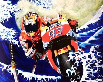 Round 15 - MotoGP Japan, Marc Marquez