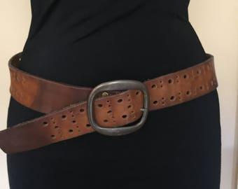 Vintage Levi's Brown Belt