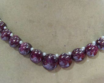 1 Strand  Indian Ruby star   Natural  beads 30, grams 8X8, 11X11, MM