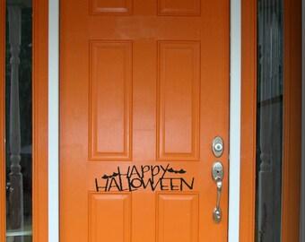 Trick or Treat Halloween Door Decal