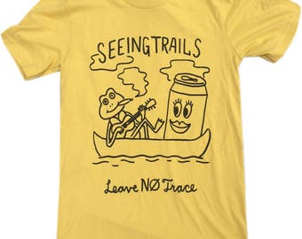 Seeing Trails/Leave No Trace Shirt