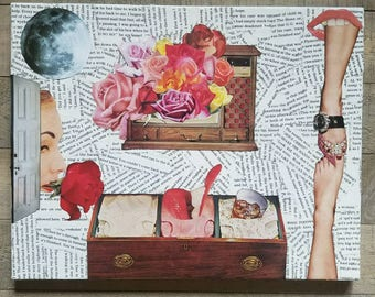 "Mixed Media Collage - ""Full"""