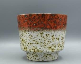 Marei  Keramik 12 / 2 Planter   1970s Mid Century Modern Planter West Germany Pottery. WGP.