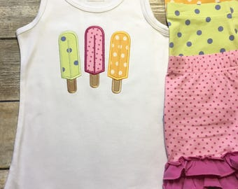 Pick 3! Popsicle Shirt M2M Matilda Jane Shorties