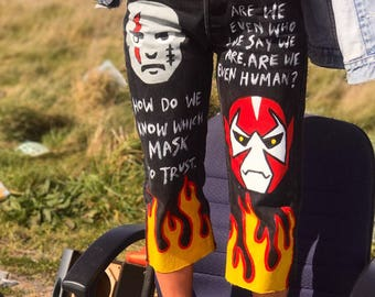 MASK OFF jeans