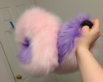 Ready to ship husky / akita tail with belt loops