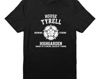 House Tyrell Tshirt Game of Thrones Tshirt Hipster Shirt Women Graphic Tee Shirt Tumblr Tshirt Gift Funny Design Shirt Men Shirt Tee Women