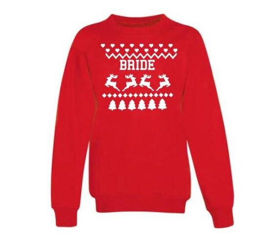 Custom Christmas Sweater | Ugly Christmas Seeater | Ugly Christmas Sweater  Bride and Groom | bride christmas sweater| groom christmas sweat
