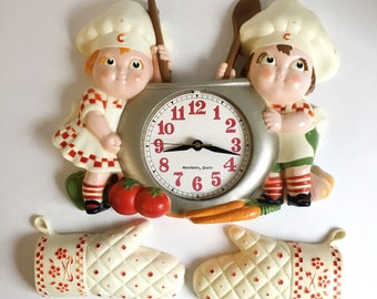 Retro Style Cambell's Soup Wall Clock