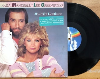 Barbara Mandrell & Lee Greenwood - Meant for Each Other (1984) Vinyl LP  PROMO