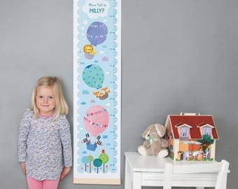 Personalised Balloons Height Chart