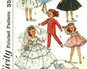 "Wardrobe for 10-1/2"" Little Miss Revlon and Miss Ginger Type Dolls"