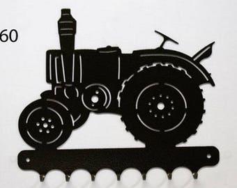 Hangs 26 cm pattern metal keys: tractor VIERZON 302
