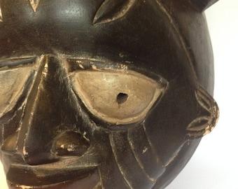 Vintage African Tribal Mask - Wall Decor - Artifact #13