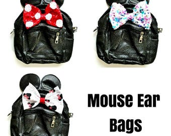 Mouse Ear bags