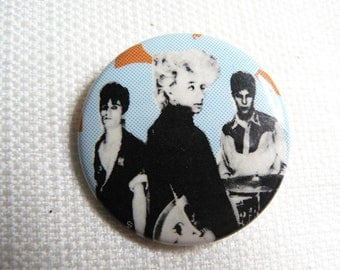 Vintage 80s - Stray Cats  - Pin / Button / Badge