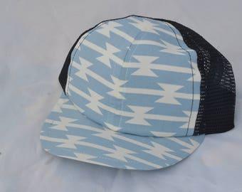 Bowtie Baby Blue Baby Trucker Hat