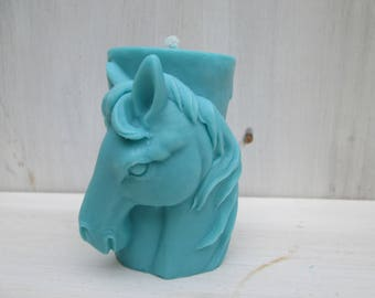 Candle plant horse rapeseed wax