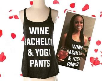 Wine Bachelor and Yoga Pants