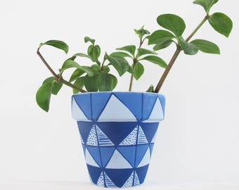 Limited Edition Etsy X Annie Sloan Hand Painted Plant Pot - Medium