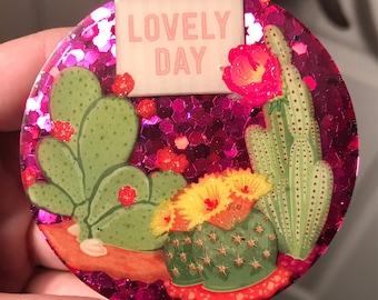 Lovely day magnet