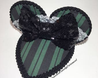 Haunted Mansion Maid Inspired Mouse Ears Fascinator