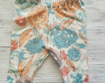 Newborn baby leggings, sale ready to ship
