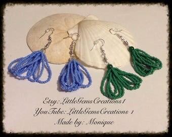 Tassle Earrings New Handmade