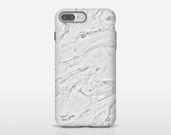 Marble Cell Case, iPhone 8 Case, Black And White, Galaxy S8 Case, iPhone Tough Case, Tough Cases, iPhone 7 Tough