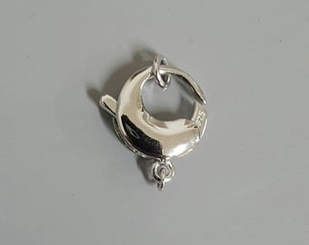 Sterling Silver Clasp 20.75mm x 13.65mm