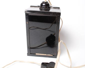 Vintage Photo Red filter lamp for photo laboratory red light, made in USSR, Russia