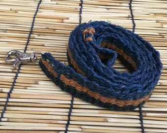 Eco Friendly Pure Hemp Pet Leash