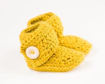 Crochet Baby Booties, Baby Booties, Newborn booties, Merino Wool Booties, Baby Shower Gift, Baby First Booties