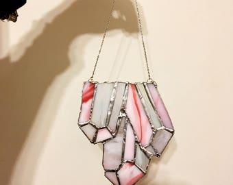 Triple point quartz window hang