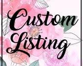 CUSTOM LISTING 47X94  Floral Muslin/Double Gauze Swaddling Blanket