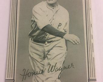 1948 Exhibit Honus Wagner Card