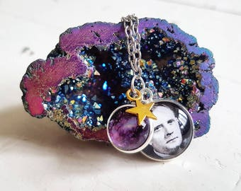 Edwin Hubble Necklace // Space Necklace // Space Jewellery // Galaxy Necklace // Galaxy Jewellery // Science // Astronomy Gift