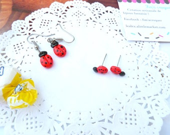 "Earrings or studs ""tomorrow beautiful?"" my lovely Ladybug"