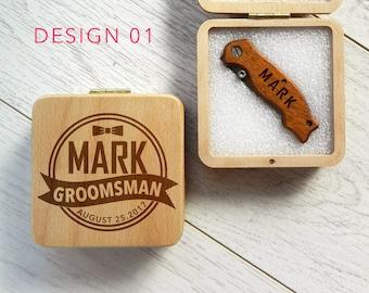 Pocket knife,groomsmen invite,engraved knives,groomsmen knives,personalized knife,groomsmen gift box,groomsmen gifts,wedding gift,groomsmen