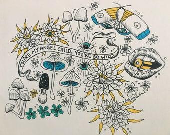 Angel Child print