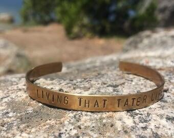Living that Tater Life Bracelet