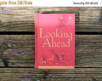 On Sale Vintage School Readers- Houghton Mifflin, Paul McKee, Looking Ahead, The Reading for Meaning Series, 1950's