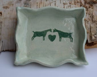 Goat Love - Soap Dish
