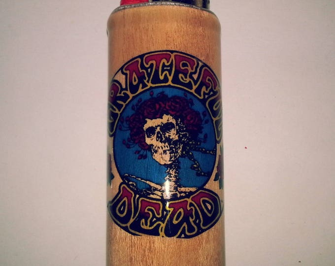 Grateful Dead BIC Lighter Cover Case Sleeve Holder