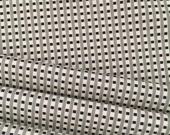 CIJSale Grid Plaid PWDS093 Grey New Bedford by Denyse Schmidt for Free Spirit
